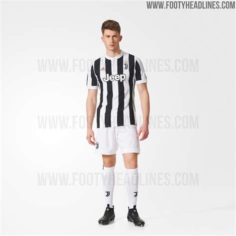 Juventus Home 1718 Official juventus 17 18 home kit released footy headlines