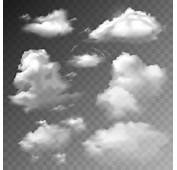 Realistic Clouds Vector Illustration Set Free In