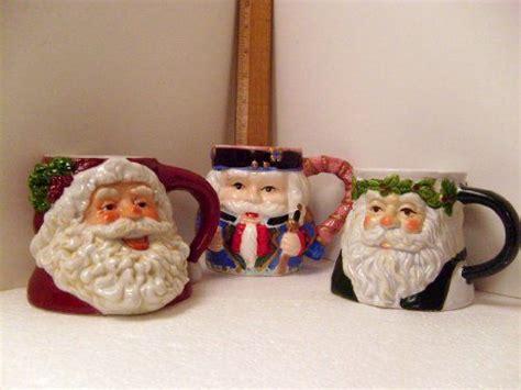 Mug Natal Santa Claus pin by black on gift giving