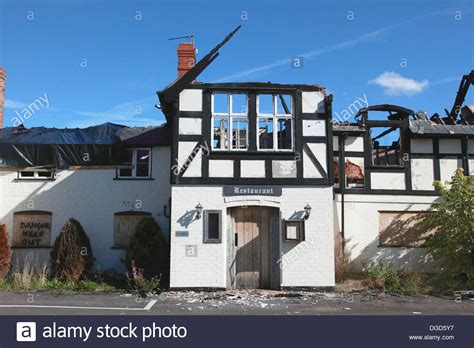 holden penley the dymock arms in penley near wrexham which was gutted by