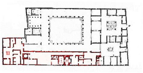 Pompeii House Plan Pompeii House Plan House Plans