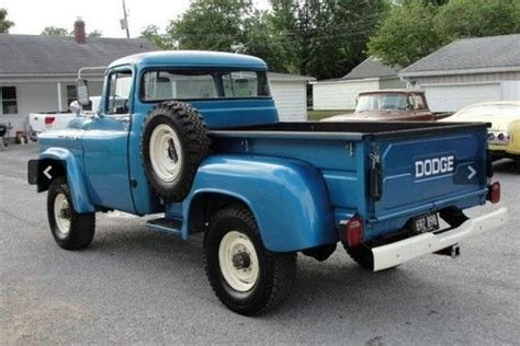 59 dodge truck buy used 59 dodge power wagon power truck with