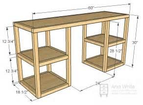 Desks desk plans and towers on pinterest