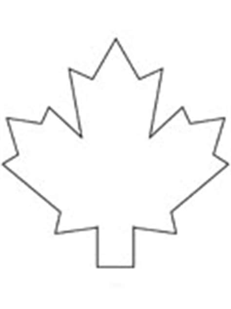 canadian leaf coloring page canadian coloring pages