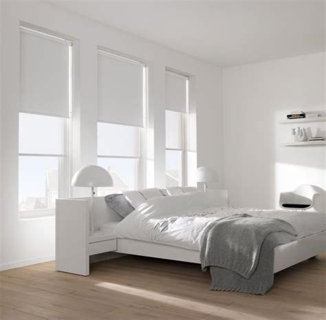 white bedroom blinds luxaflex 174 roller blinds decorating decor interiors