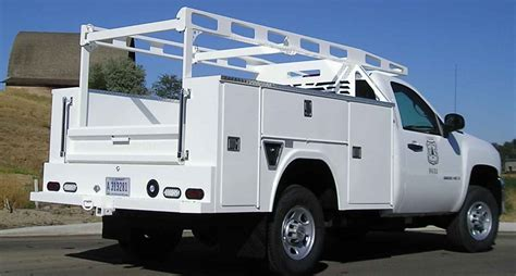 utility bed trucks rki standard service body