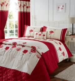 Red Poppy Duvet Poppy Red Duvet Cover Set Super King Size