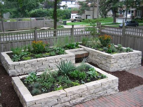 Raised Rock Garden Beds Midwest Landscaping Prairie Mn Photo Gallery Landscaping Network
