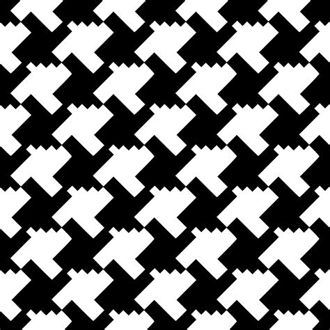 black and white houndstooth pattern clipart houndstooth tessellation