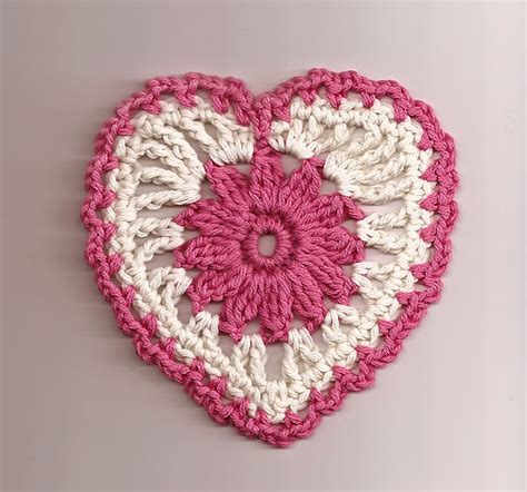heart pattern in crochet free heart crochet pattern new calendar template site
