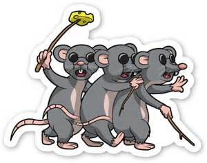 3 Blind Micr Three Blind Mice By Vector Toons 7471 Sticker Mule