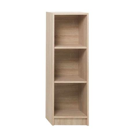 Rak Buku Olympic 3 Susun jual jysk bookcase horsens shelves slim brushed oak rak