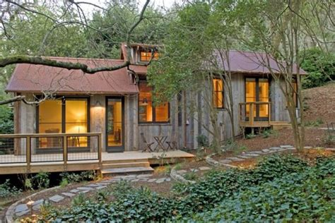 In Cabin by 714 Sq Ft Cabin Built With Reclaimed Barn Wood