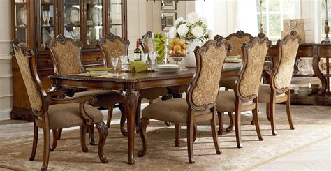 Legacy Dining Room Furniture Legacy Classic Pemberleigh Leg Dining Set With Upholstered Chair Burnished Edges Legacy