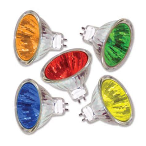 Colored Landscape Light Bulbs Colored Mr16 50 Watt 12v 40 Degree Flood Landscape Lighting Specialist