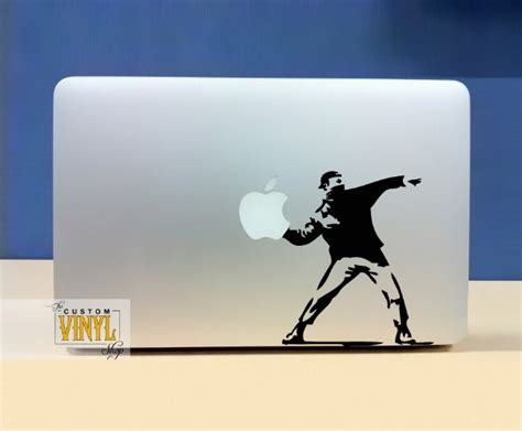 Decal And Sticker Macbook 25 cool and creative macbook stickers bored panda