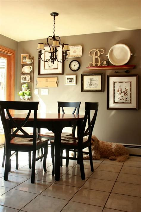 ideas for dining room walls dining room wall decor ideas picture for in country