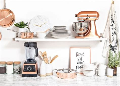 rose themed kitchen currently craving copper kitchen accessories lauren conrad