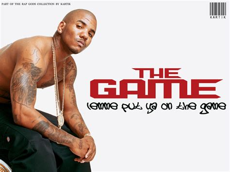 the game in the the game rapper images the game hd wallpaper and background photos 610149