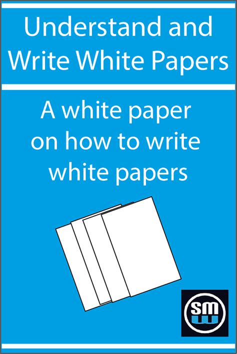 how to write a white paper free white paper on how to write a white paper