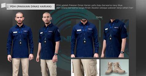 Bahan Baju Karyawan Net Tv seragam net tv seragam net tv