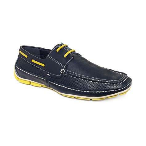traffic shoes kenneth cole reaction traffic jam lace boat drivers in