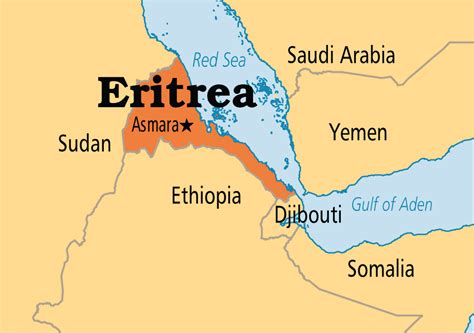 eritrea map worldly rise eritrea the land and the
