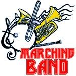 Kaos Marching Band Danger Trompet bandnerd
