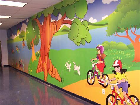 preschool wall murals custom wallpaper murals children s ministry design