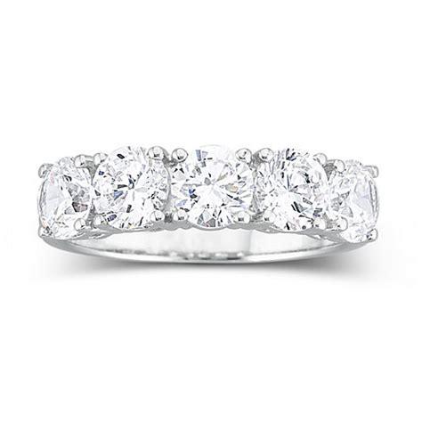 diamonart 174 2 1 2 ct t w cubic zirconia wedding ring