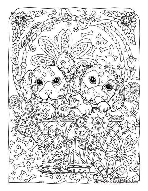 dog mandala coloring page adult coloring pages mandala dog printable adult