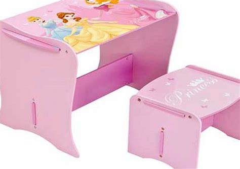 disney princess vanity dressing table desk and stool
