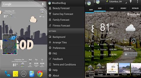 weatherbug app for android the 9 best weather apps for android