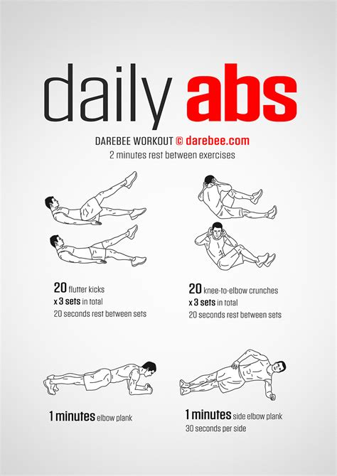 daily abs workout