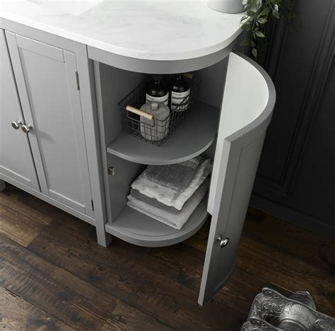 holborn curved mm traditional floor standing vanity