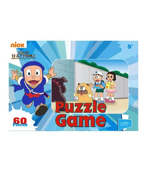Puzzle 60 Pcs 1 hattori puzzle jigsaw 60 pcs buy