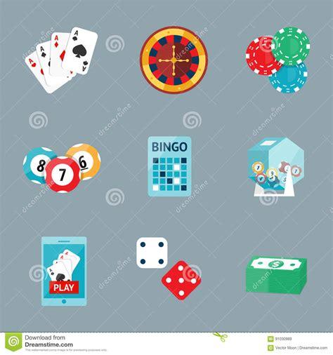 Dream Interpretation Winning Money - casino game poker gambler symbols blackjack cards money winning roulette joker vector