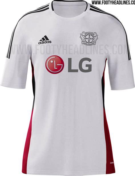 Jersey Go Bayern Leverkusen Home bayer leverkusen 15 16 kits released footy headlines