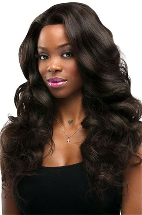#2 Dark Brown Body Wave Indian Remy Hair Full Lace Wigs