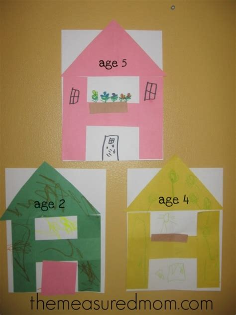 house pattern preschool letter h crafts preschool classroom childcare and