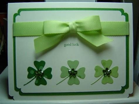 Handmade With St - handmade st s day card st paddy by