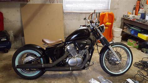 Motorrad Blinker Abgebrochen by Vt 600 Bobber Wei 223 Wandreifen Bobber Pinterest Motorr 228 Der