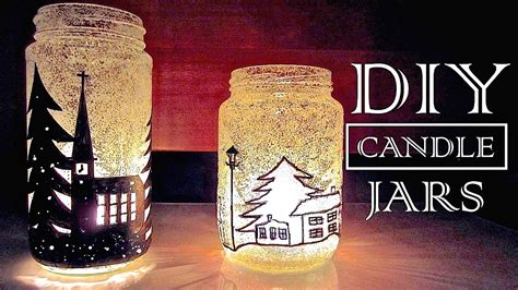 diy decorations candle jars diy decorations gifts in a jar