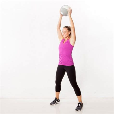 medicine ball swings med ball slam stand with feet wide holding a medicine