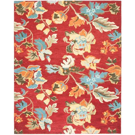 Safavieh Blossom Rug Safavieh Blossom Multi 8 Ft X 10 Ft Area Rug Blm672a 8 The Home Depot