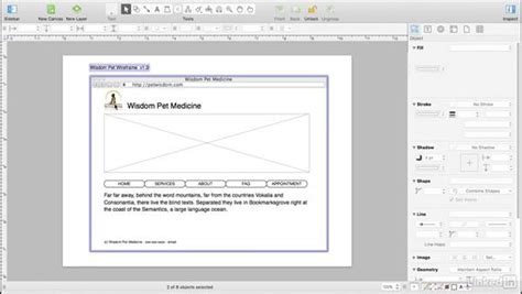 Convert The Wireframe Into A Template Html Wireframe Template
