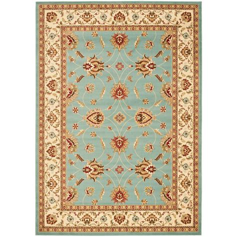 8 X 12 Area Rug Safavieh Lyndhurst Blue Ivory 8 Ft 9 In X 12 Ft Area Rug Lnh553 6512 9 The Home Depot