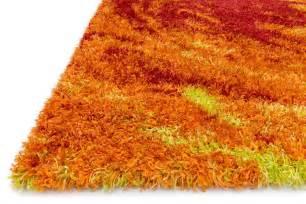 Girls Area Rug Orange Solid Colorful Shag Rugs Home Furnishings Ideas