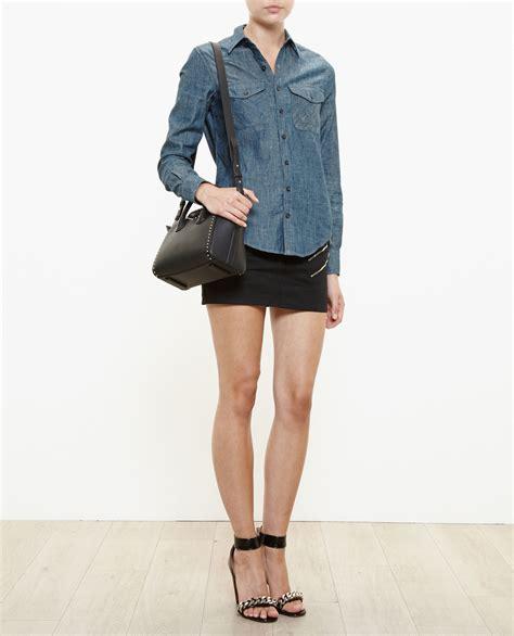 Givenci Mini givenchy studded mini antigona bag in black lyst