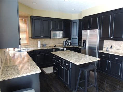 pictures of kitchens with black cabinets 21 dark cabinet kitchen designs